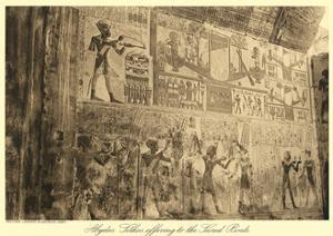 Mural at Abydos