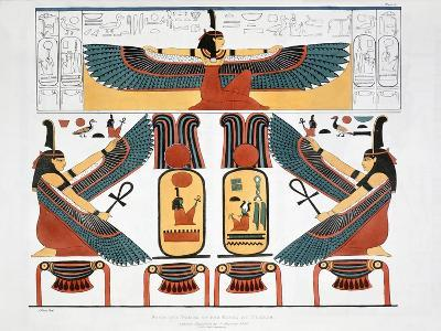 Mural from the Tombs of the Kings at Thebes, 1820-Charles Joseph Hullmandel-Giclee Print