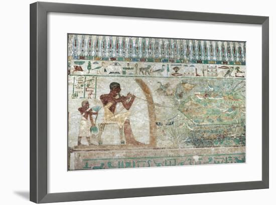 Mural Paintings--Framed Giclee Print