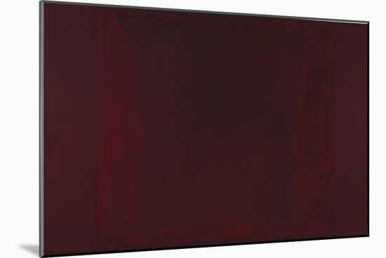 Mural, Section 2 {Red on Maroon} [Seagram Mural]-Mark Rothko-Mounted Giclee Print