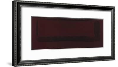 Mural, Section 5 {Red on Maroon} [Seagram Mural]-Mark Rothko-Framed Giclee Print