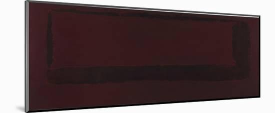 Mural, Section 5 {Red on Maroon} [Seagram Mural]-Mark Rothko-Mounted Giclee Print