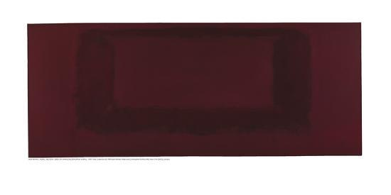 Mural, Section 7 {Red on Maroon} [Seagram Mural]-Mark Rothko-Giclee Print