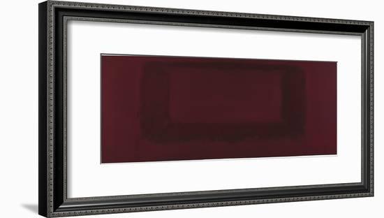 Mural, Section 7 {Red on Maroon} [Seagram Mural]-Mark Rothko-Framed Giclee Print
