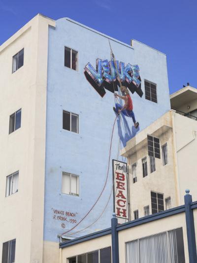 Mural, Venice Beach, Los Angeles, California, United States of America, North America-Wendy Connett-Photographic Print