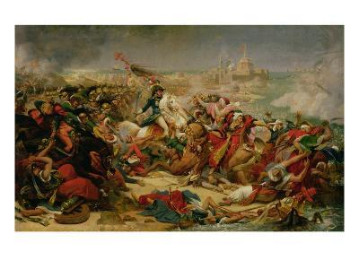 Murat Defeating the Turkish Army at Aboukir on 25 July 1799, C.1805-Baron Antoine Jean Gros-Giclee Print