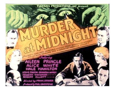 Murder At Midnight - 1931--Giclee Print