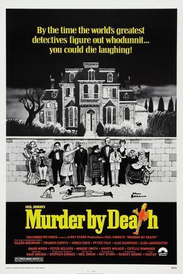 Murder by Death, 1976--Giclee Print