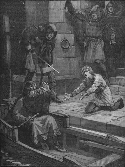 Murder of Prince Arthur, 1203--Giclee Print