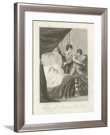 Murder of the Princes in the Tower--Framed Giclee Print