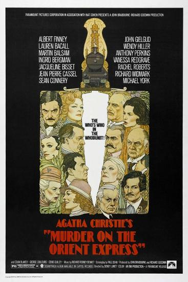Murder on the Orient Express, 1974--Giclee Print