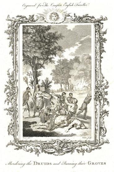 Murdering the Druids, C.1771-1772-Walker-Giclee Print