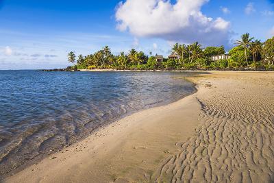 Muri Beach at Sunrise, Rarotonga, Cook Islands, South Pacific, Pacific-Matthew Williams-Ellis-Photographic Print