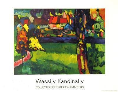 Murnau, 1909-Wassily Kandinsky-Collectable Print