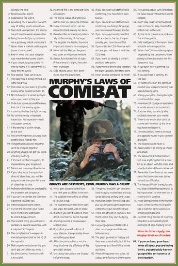Murphy's Laws of Combat-Unknown-Art Print