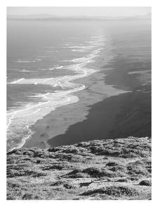 Pacific Ocean Seascape #59 B+W by Murray Bolesta
