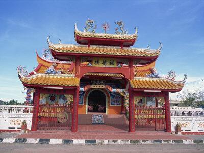 Chinese Temple in Kota Kinabalu, Sabah, Borneo, Malaysia, Southeast Asia