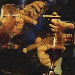 Party Cigar by Murray Murray Henderson Fine Art