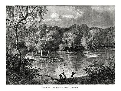 Murray River, Victoria, Australia, 1877--Giclee Print