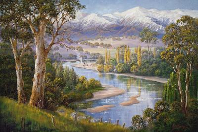 Murray Valley Campers-John Bradley-Giclee Print