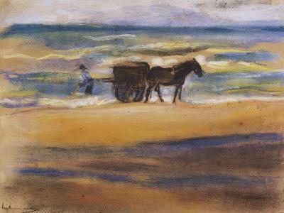Muschelsucher Am Strand-Max Liebermann-Giclee Print