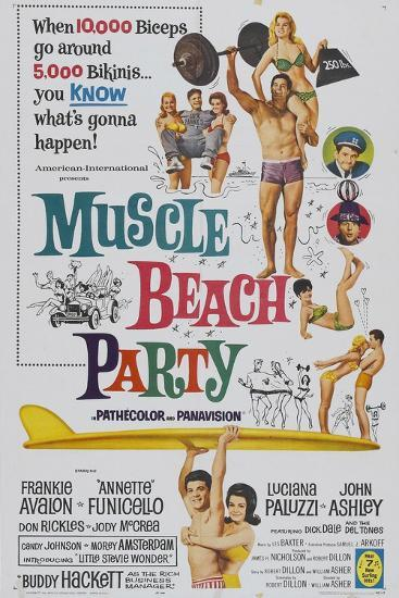 Muscle Beach Party, 1964, Directed by William Asher--Giclee Print