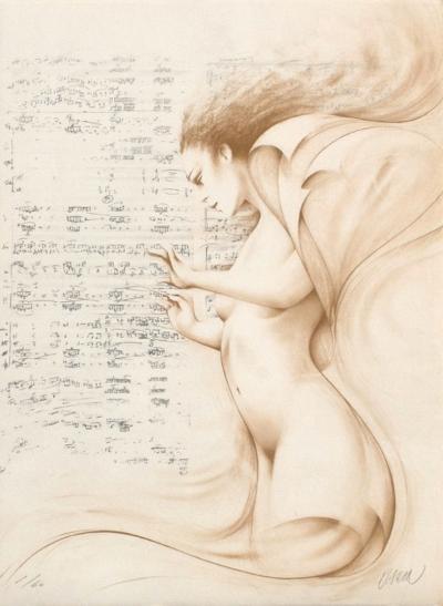 Muse II (ocre)-Gerard Daran-Limited Edition