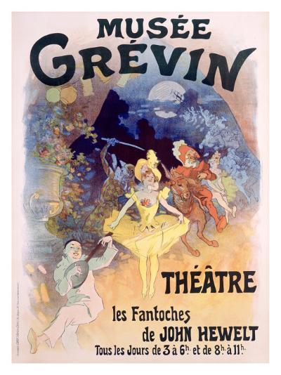 Musee Grevin, Fantoches de John Hewelt-Jules Ch?ret-Giclee Print