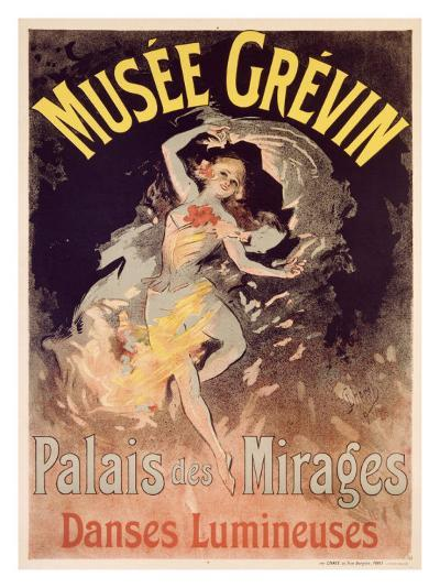 Musee Grevin, Palais Mirages-Jules Ch?ret-Giclee Print