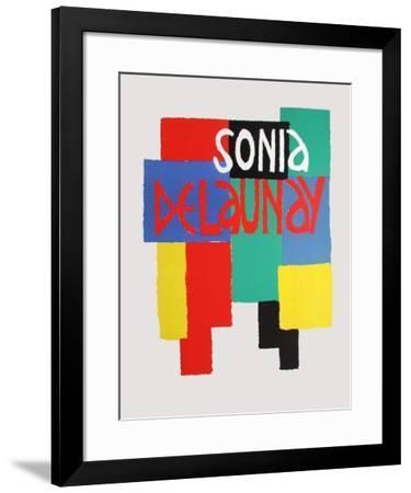 Musée National D'Art Moderne-Sonia Delaunay-Terk-Framed Premium Edition