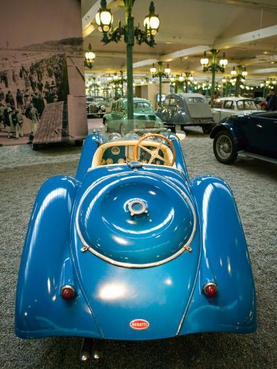 Musee National de l'Automobile, Bugatti Grille, Haut Rhin, France-Walter Bibikow-Photographic Print