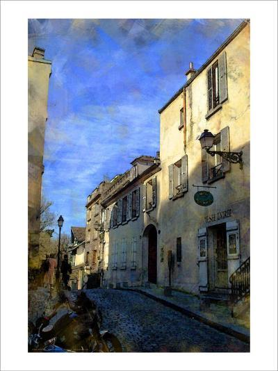 Musee on the Hill, Paris, France-Nicolas Hugo-Giclee Print