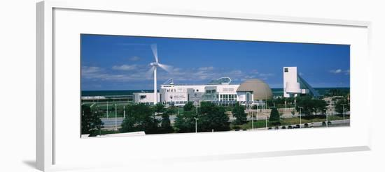 Museum at the waterfront, Great Lakes Science Center, Cleveland, Ohio, USA--Framed Photographic Print