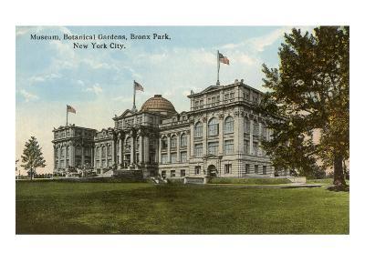 Museum, Botanical Gardens, Bronx Park, New York City--Art Print
