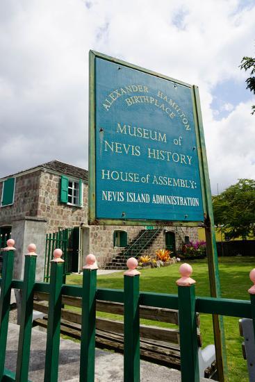 Museum of Nevis History, Charlestown, Nevis-Robert Harding-Photographic Print