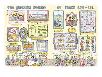 Museum of pages 150-151 - New Yorker Cartoon-Roz Chast-Premium Giclee Print