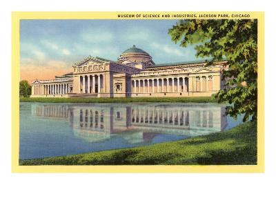 Museum of Science and Industries, Chicago, Illinois--Art Print
