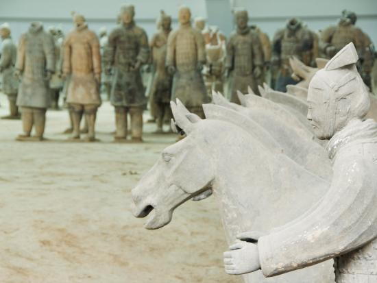 Museum of the Terracotta Warriors Opened in 1979 Near Xian City, Shaanxi Province, China-Kober Christian-Photographic Print