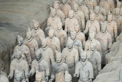 Museum of the Terracotta Warriors, Shaanxi Province, China-G & M Therin-Weise-Photographic Print