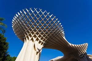 Mushroom structure, Metropol Parasol, Plaza De La Encarnacion, Seville, Andalusia, Spain