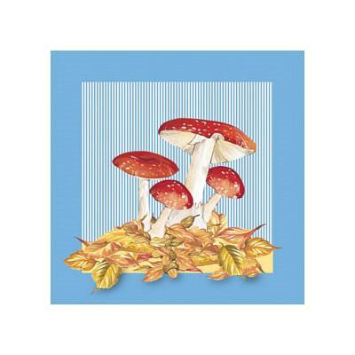 Mushrooms IV--Art Print