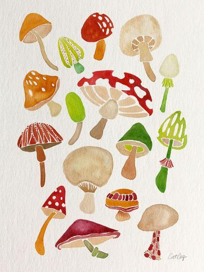 Mushrooms-Cat Coquillette-Giclee Print