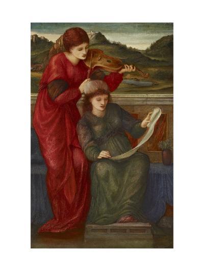Music, 1877-Edward Burne-Jones-Giclee Print