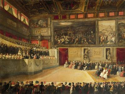 Music Academy in Salone Dei Cinquecento--Giclee Print