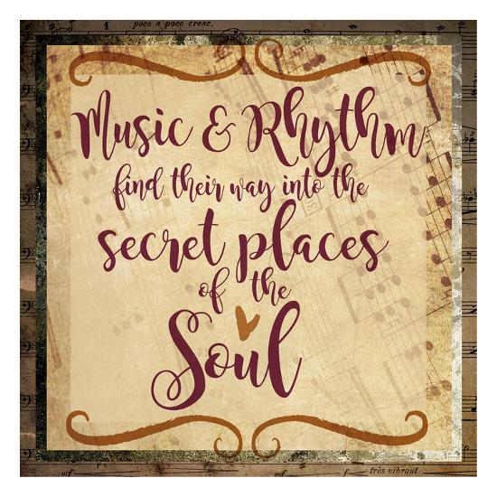 Music and Rhythm-Melody Hogan-Art Print