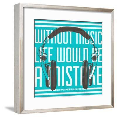 Music Apparatus I--Framed Premium Giclee Print