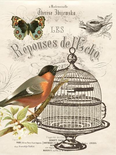 Music Bird I-Gwendolyn Babbitt-Art Print
