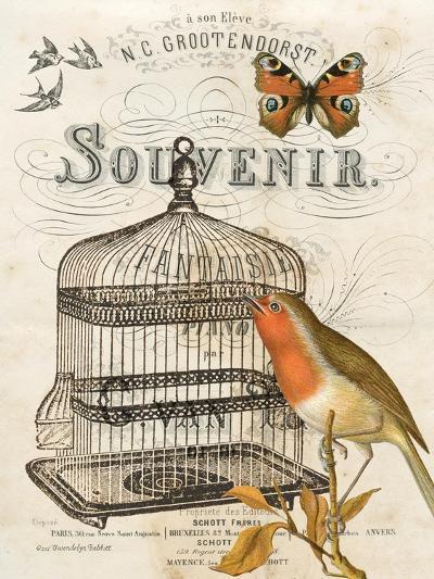 Music Bird II-Gwendolyn Babbitt-Art Print