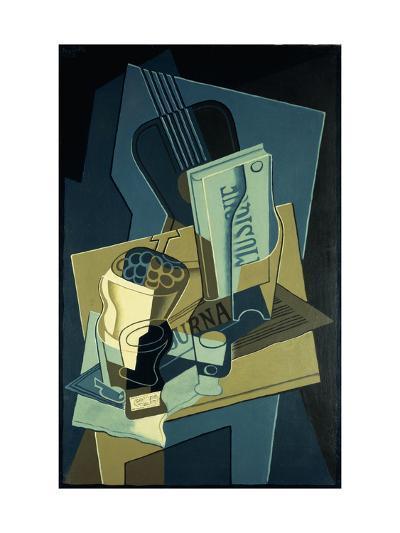Music Book-Juan Gris-Giclee Print