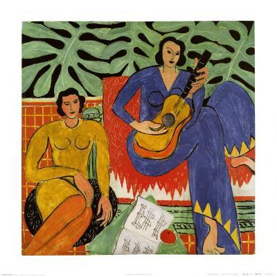 Music, c.1939-Henri Matisse-Art Print